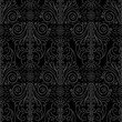 Abstract beautiful black background, seamless pattern