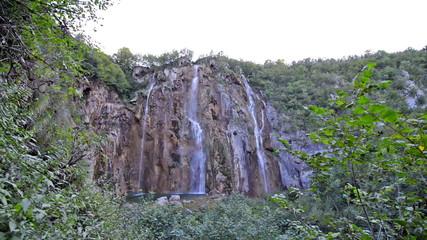 Waterfall in Croatia Plitvice