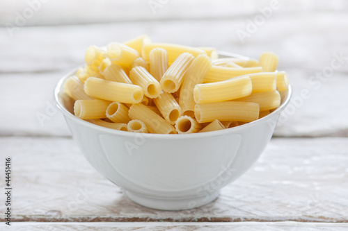 bowl of uncooked macaroni