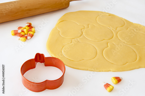 Baking Halloween Cookies