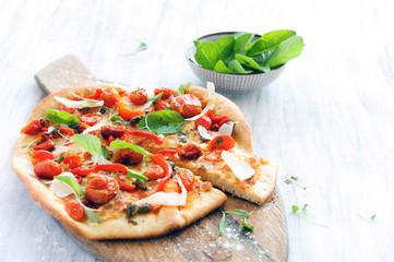 Gourmet delicious pizza