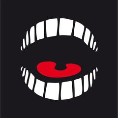 bouche, rire, dent, rigoler, plaisanter, humour, langue