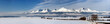 Winter panorama of high tatry mountains