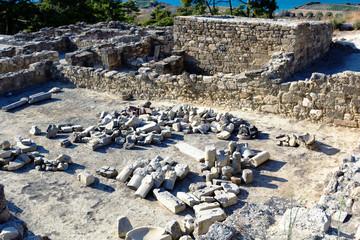 Ancient ruins of Kamiros - Rhodes