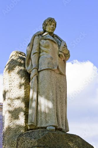 Rosalia de Castro statue