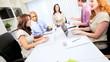 Advertising Executives Brainstorming Meeting