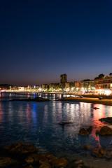 Lloret de Mar at night