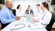 Multi Ethnic Medical Team Meeting