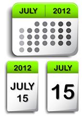 Calendar Icons Compilation