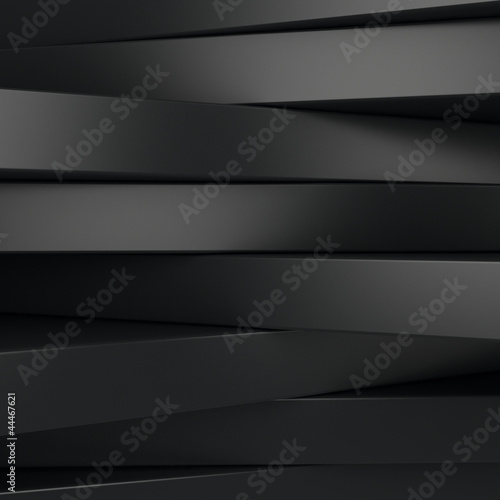 Naklejka Czarne panele