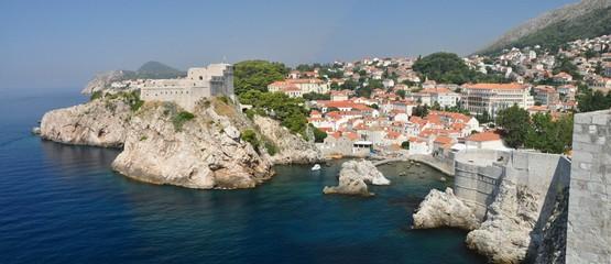 Panorámica General de Dubrovnik, Croacia