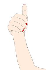 Segni e Simboli con le mani – L'Uno