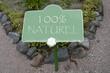 panneau 100% naturel