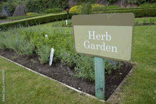 panneau herb garden