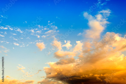 Abstract clouds and sky