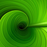 Texture of a green leaf. Vector illustration