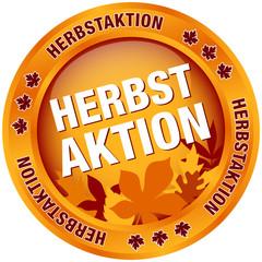 """Button """"Herbstaktion"""" Herbstlaub"""