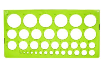 Plastic stencil
