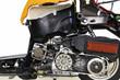 バイクのカットモデル