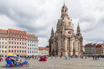 Dresden Altstadt - Frauenkirche mit Neumarkt