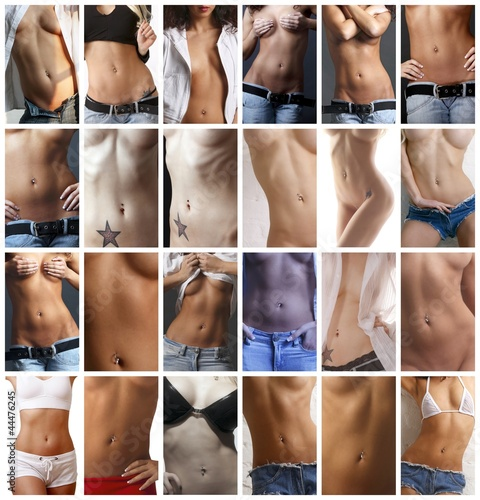 24 pictures of womans belly