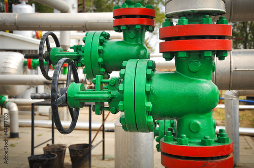 oil valve in the oil collector