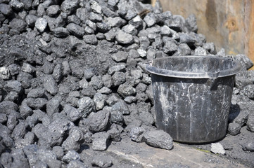 Coal and bucket