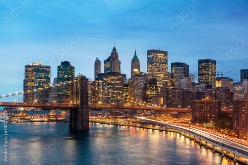 New York Manhattan Pont de Brooklyn