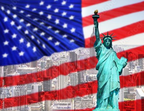 Fototapeten,york,new york,fahne,american