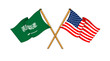 America and Saudi Arabia alliance and friendship
