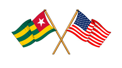 America and Togo alliance and friendship