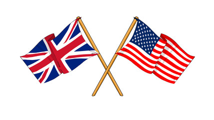 America and United Kingdom alliance and friendship