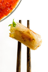 Spring roll fried