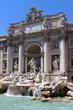 Fontane di Trevi in Rome, Italy