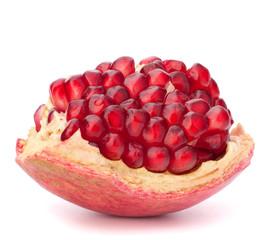 Broken pomegranate segment