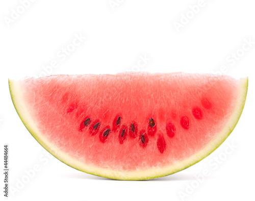 Ripe watermelon slice