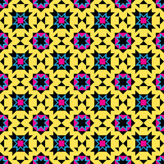 Colorful Mexican Pattern