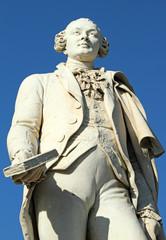statue of Italian playwright and librettist Carlo Goldoni