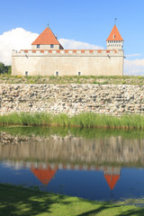 The medieval episcopal castle, Kuressaare, Saaremaa, Estonia.