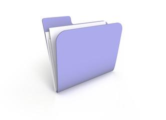 3D Folder Ordner