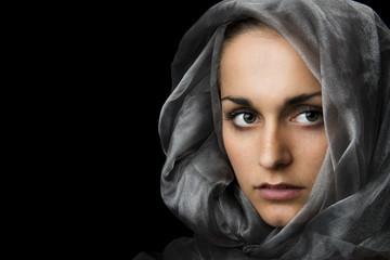 Geheimnisvolle Frau