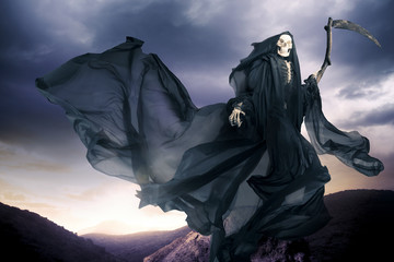 Grim reaper/ angel of death