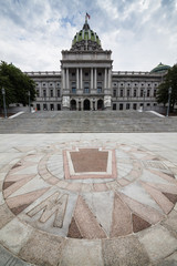 Pennsylvania State House & Capitol Building in Harrisburg, PA