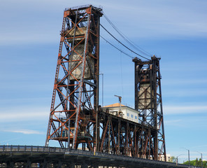 Old Steel Bridge Portland