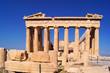 Ancient Parthenon at the acropolis, Athens, Greece