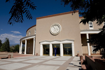 State Capital Building in Santa Fe, New Mexico.