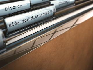 aide juridictionnelle, divorce