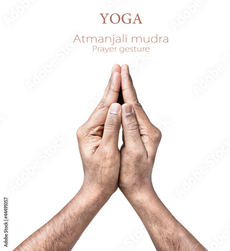 atmanjali prayer mudra