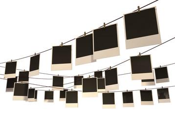 Hanging Polaroid Gallery