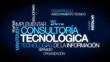 Consultoria tecnologica texto nube de palabras video